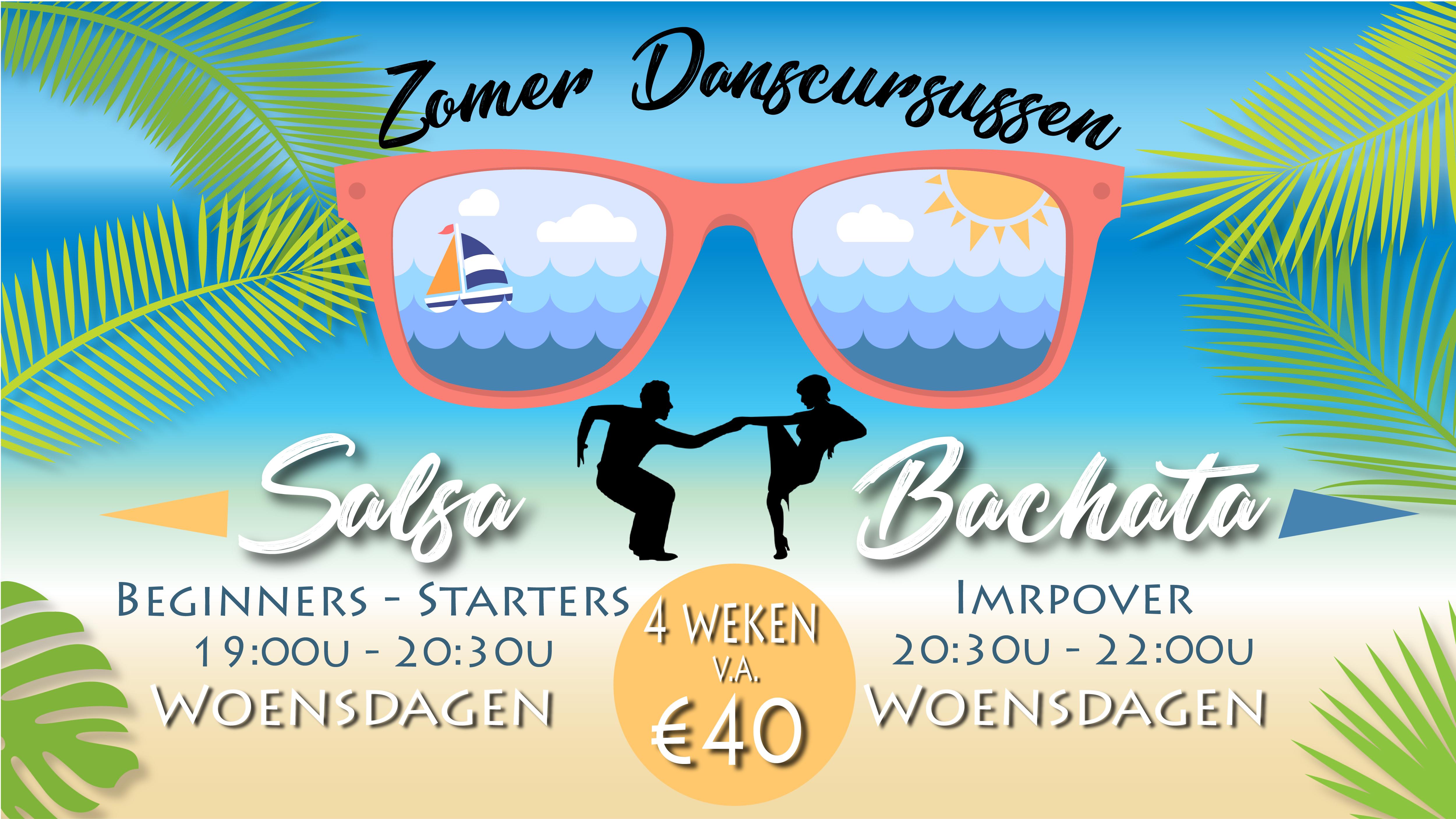 Salsa & Bachata zomer Cursussen 2019 in Enschede