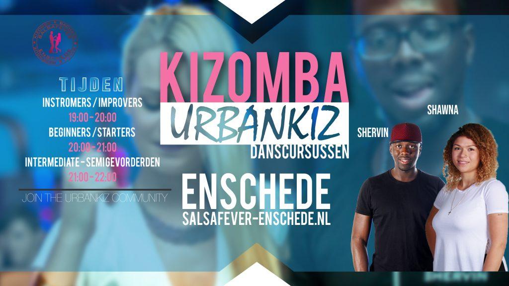 Kizomba Urbankiz lessen en cursussen in Enschede en hengelo