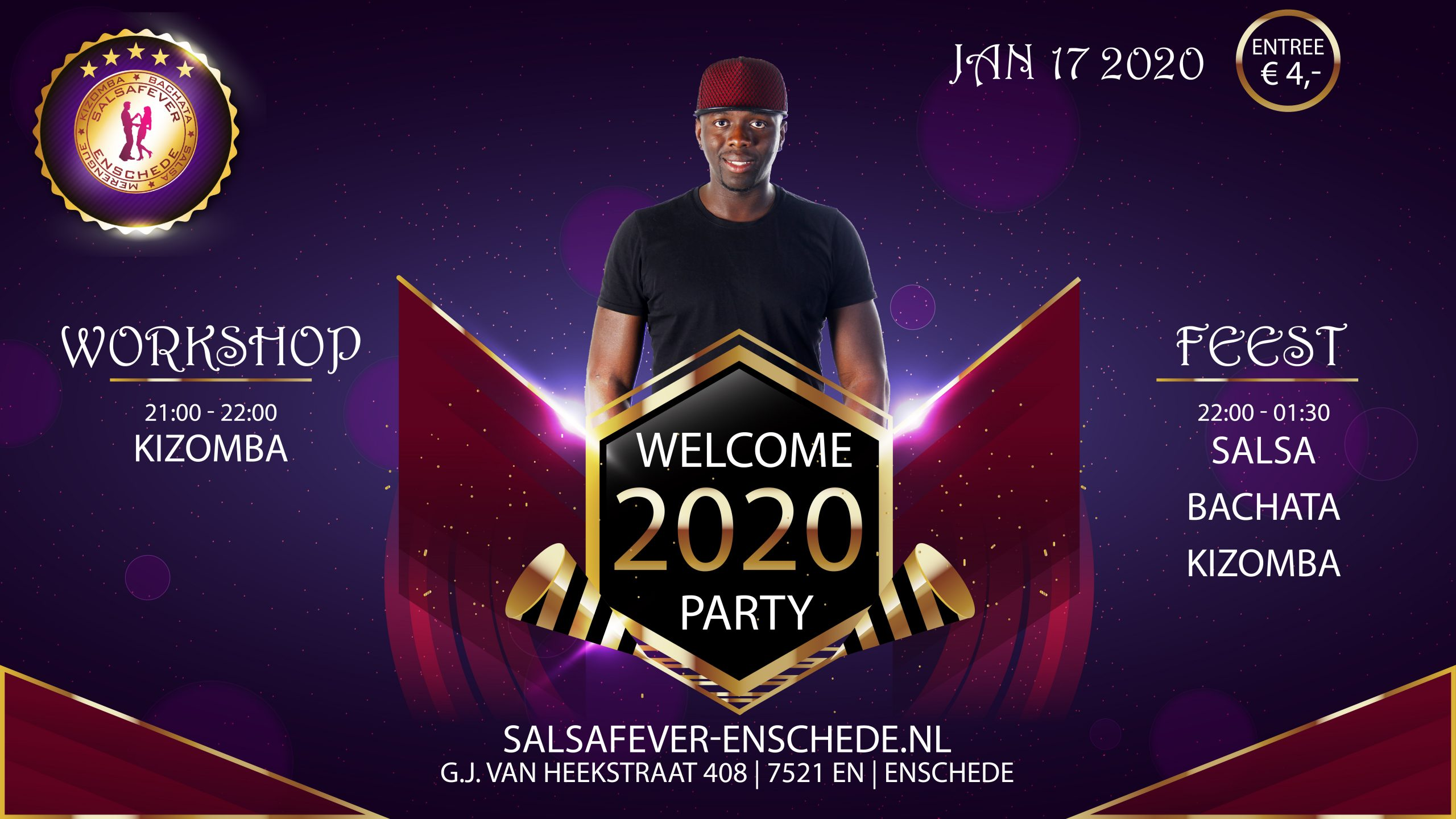 SalsaFever Enschede Welcome 2020 party