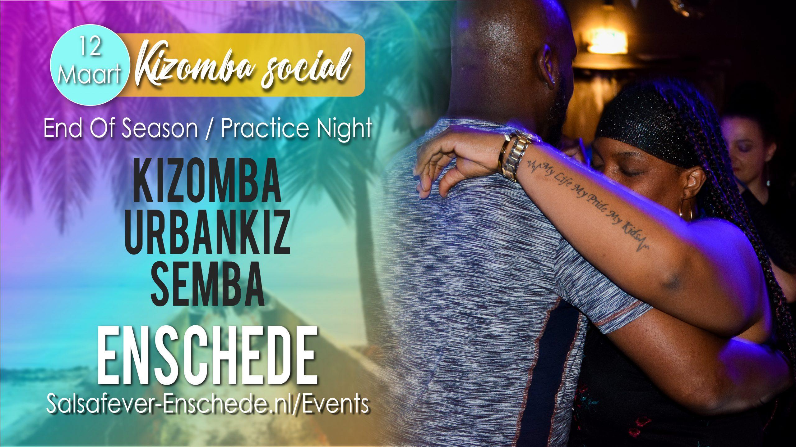 Kizomba social in Enschede