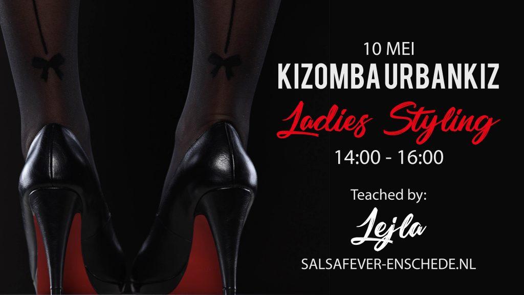 Kizomba Ladystyling in Enschede met Lejla